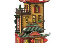 Christmas Village: Dept 56 Christmas in the City / our collection / by Meagan Hodge