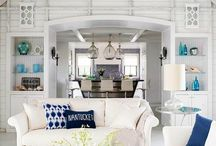 Editor's Picks: Beach Home Interiors / Favorite beach home interior designs from Sally Lee by the Sea's editorial staff. Learn more: http://nauticalcottageblog.com/