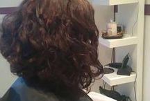 Hajak / Az általam készített frizurák.