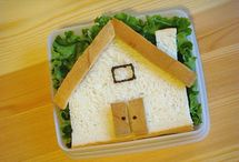 Food, Sammiches Lunch / for kids' lunch, a picnic, or just a simple meal - all kinds of sandwiches! / by pc brown