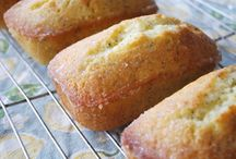 Lemon poppyseed loaves.