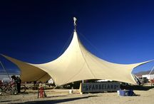 Tensile / Membrane Architecture / Collection of tensile membrane / fabric architecture projects.