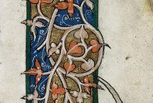 miniatures and illustrations of manuscripts