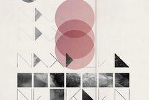 [design] graphics & typography / by diaphanous bird ํ