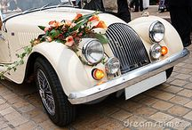 Wedding Car Flowers / Wedding cars and other vehicles decorated for weddings with flowers