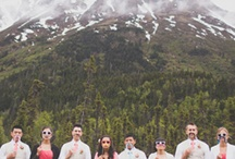 Marriage in the Rockies / Because I love mountains almost as much as I love weddings.