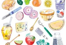 Illustration - foods