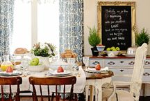 | Dining Room - Inspiration | / Inspired looks for a dining room.