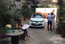 presentazione @triumphgroupinternational della nuova @renault_italia #LaParisienne #Twingo