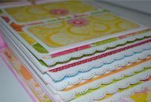 Mini Álbum Scrapbook - Citronela K e Company / Mini álbum scrapbook feito com coleção de papéis Citronela K e Company