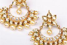 Kundan Jewellery / Handmade kundan jewellery made with brass and glass