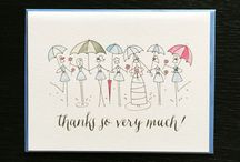 PAPER GOODS: Thank You Cards