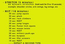 Training workouts