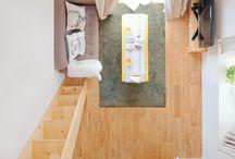 TOMOS people / 写真家・ライターの大山顕さんに、ちょっとおもしろい撮り方で、無垢床リノベーション「TOMOS」のお部屋と住んでいる人の「平面図」を撮ってもらうシリーズです。