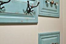wieszaki montowane na ścianie