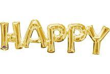 happy birthday шары