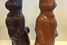 Easter Treats! / Check out some of our fun and tasty chocolates for the holiday, as well as some of our cutest bunnies!