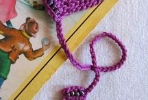 crochet bookmarkers