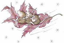 Herfst tekeningen.