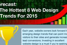 Website Trends - Infographics / best practices on getting more conversions for your website presented in a beautiful way / by SuperFastBusiness