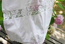 Régies textilek