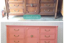 old furniture before after