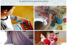 At Home Activities / Fun and easy at home activities for my little guys