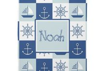 Nautical Baby Room / Nautical Theme for Baby Room