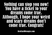 Graduation Wishes and Quotes / Good things to write in a graduation congratulations card. / by Quotes and Messages
