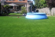 Garden with swimmingpool