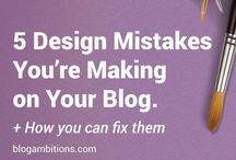 DIY Blog Design / How to design your own blog website