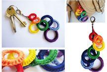 Crochet: KEY CHAINS