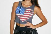 American Girl* / Show off your American flag prints in style!  / by UsTrendy.com