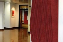 Acoustic noise dampening panels