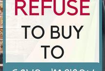 Saving Money / Tips and tricks to saving money!