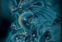 Dragones / Esas hermosas y majestuosas criaturas ....