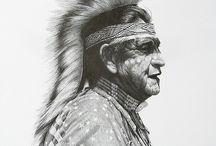 indiaan tekeningen