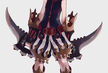 Characters / Desenhos Animes