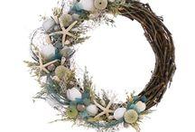 Navy wreaths