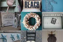 Beach Theme Decorating Ideas / by Tami Nichols Floyd
