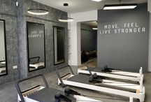 Foursides Pilates / Pilates has grown in popularity in the UK recently, and our client, a qualified Pilates instructor and physiotherapist, wanted to create a luxury environment in London for her customers to experience physical therapy in a new way, and maximise their musculoskeletal health.