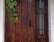 Portes exteriors pvc + vidre