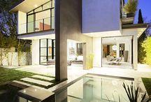 Dream house / Dream houses. Modern, minimalistic houses mainly.