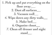 Chore checklists/ Other
