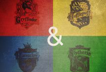 The Stone, Chamber, Prisoner, Goblet, Order, Prince and Hallows / I will never forget the first time I saw Harry Potters and the ten years following it  / by Natalie Sconiers