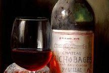 натюрморт вино