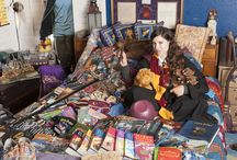 Katie's Harry Potter Life /  Yes, this is my real harry Potter themed bedroom. Collected over 15 years.