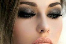 Strong makeup