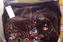 handpaint bags / Borse dipinte a mano