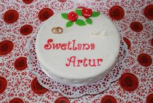 Cake Wedding / Mit Zitronen Buttercreme